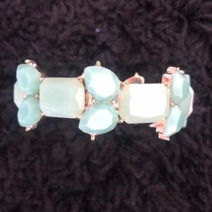 Jewelry - Mint jeweled bracelet NWT